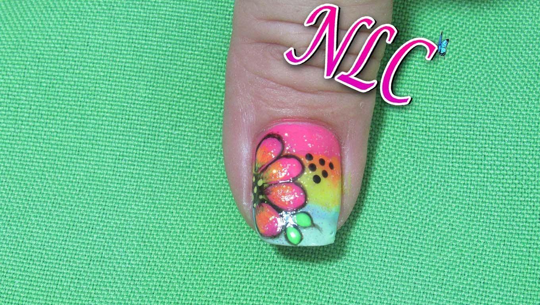 Atractivo Uñas Flores Molino Componente - Ideas de Pintar de Uñas ...