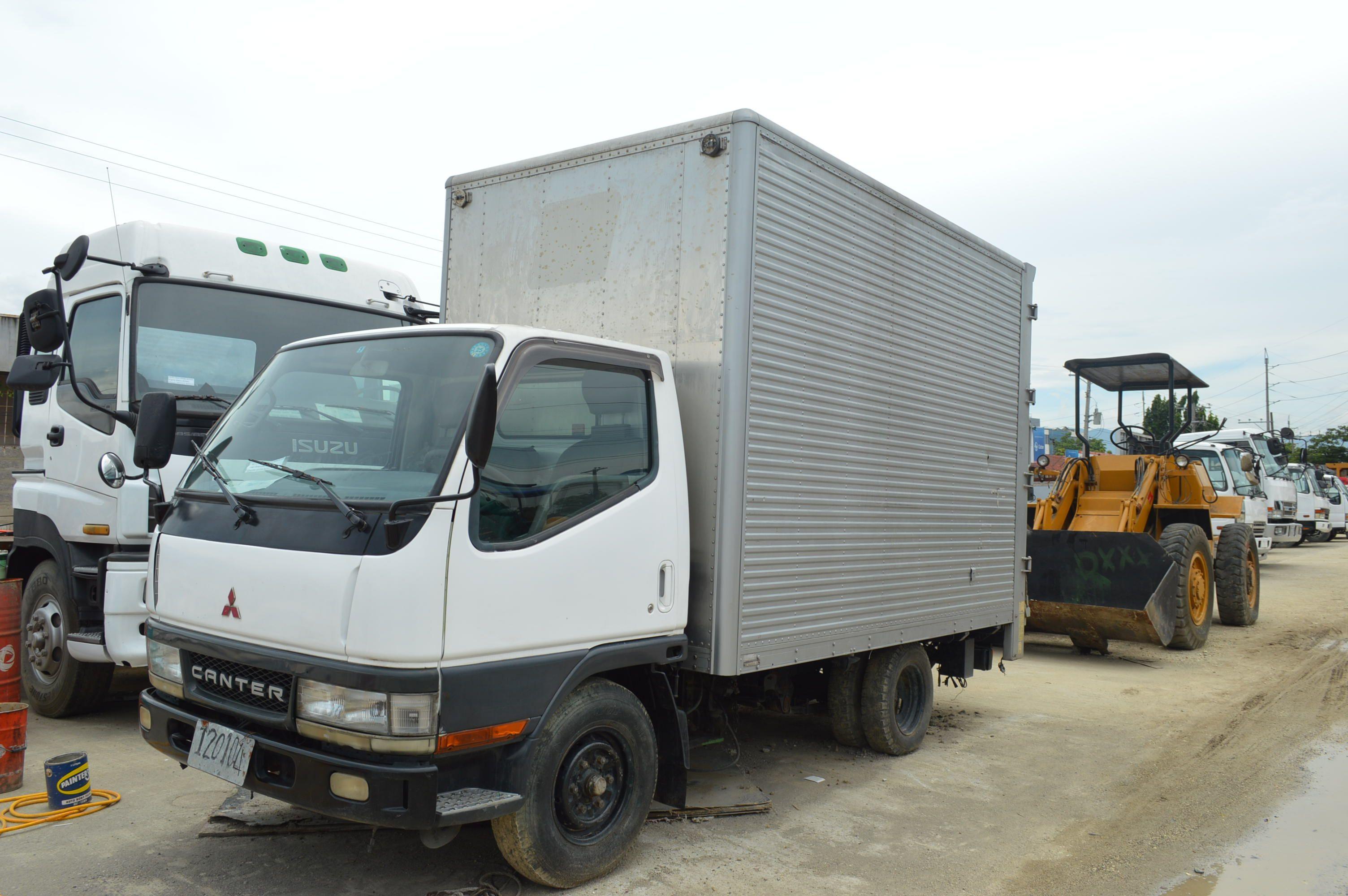0ff7f66bf5 Japan Surplus Mitsubishi Canter Closed Van