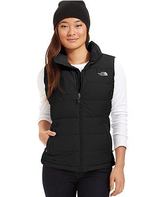 4901c9638e The North Face Nupste Down Puffer Vest - Jackets   Blazers - Women - Macy s