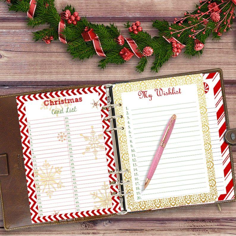 2021 Christmas Planner Printable Christmas Planner Printable Holiday Planner Printables 2021 Etsy Holiday Planner Printables Holiday Planner Christmas Gift Planner