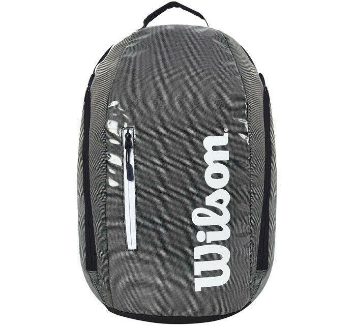 5077693f65 Wilson Super Tour Backpack Tennis Gray Black Badminton Squash NWT  WRZ-843996  Wilson