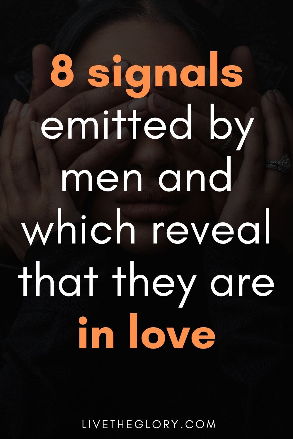 Here are 8 signals emitted by men and which reveal