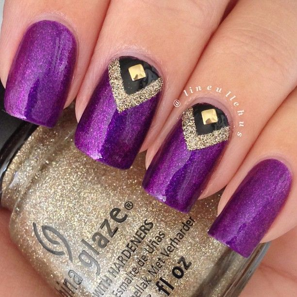 Instagram photo by lineullehus #nail #nails #nailart | Nails and ...