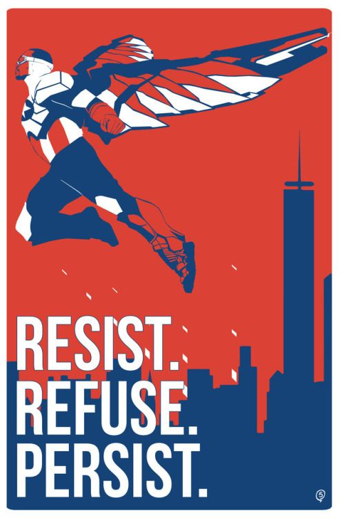 Resist. Refuse. Persist. -   http://shop5.tumblr.com/post/162599787698/happy-forth-of-july-x