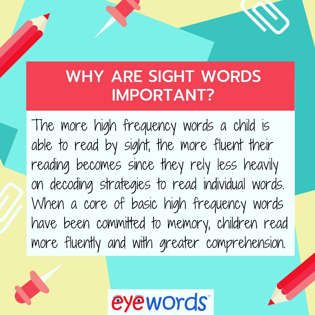 Eyewords Multisensory Reading Materials Will Help Your