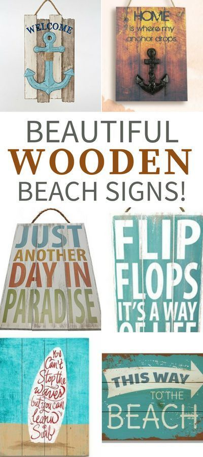 Wooden Beach Signs Discover The Best Wooden Beach Signs For Your Beach Home Wood Wall Decor Beach Signs Wooden Beach Signs Beach Wall Decor