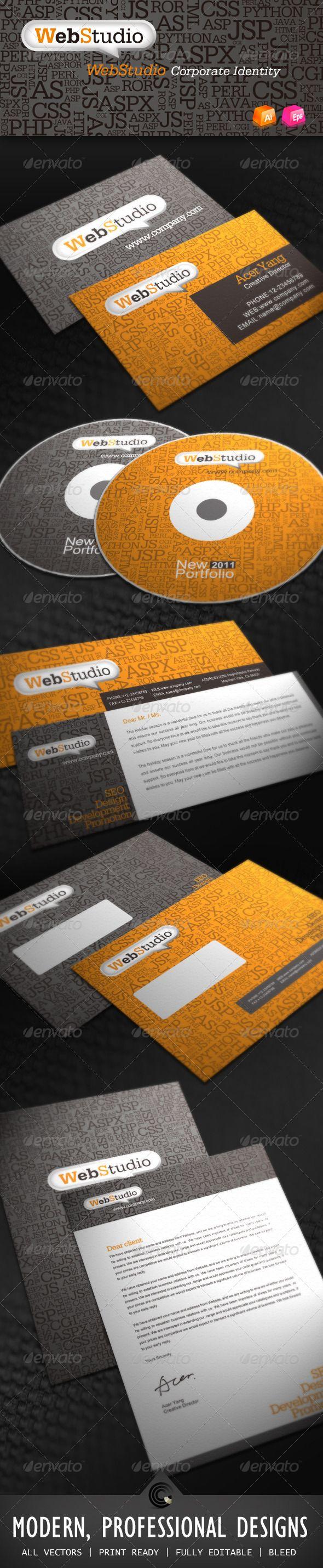 Web Studio Corporate Identity GraphicRiver File
