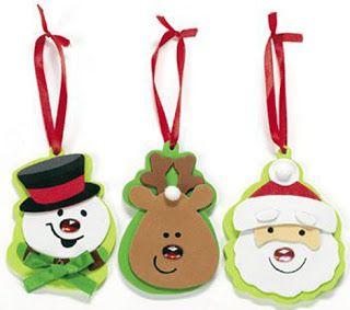 Manualidades f ciles para hacer con ni os navidad - Manualidades navidenas faciles para ninos ...
