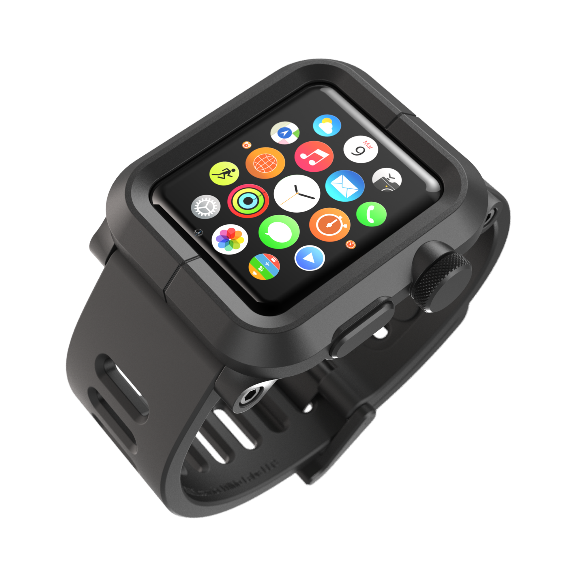 release date: d0f82 f5976 EPIK Apple Watch Case 44mm   Impact Resistant Rugged Polycarbonate ...