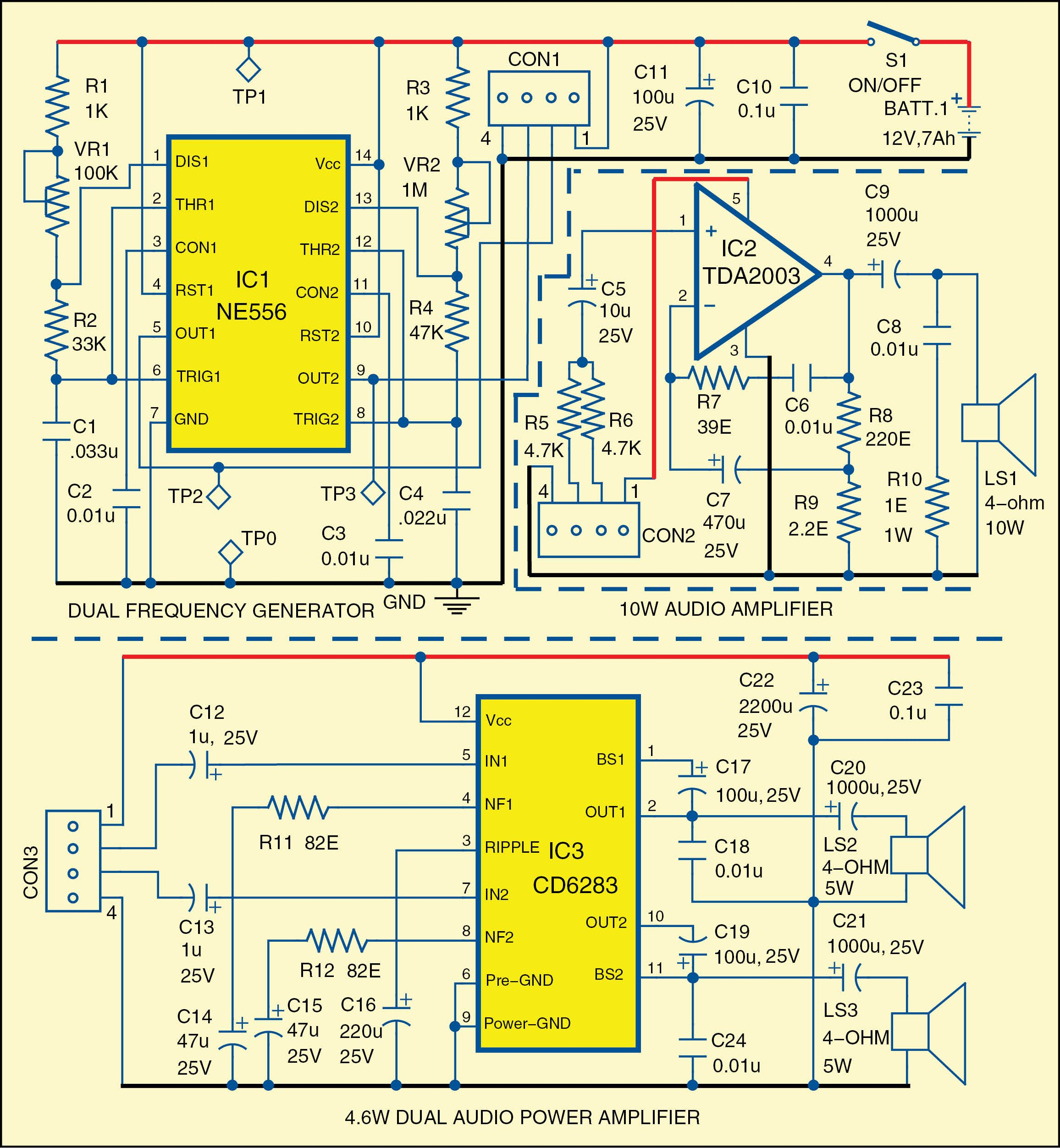 Usa Style Twin Horn Electronics Pinterest Electrical Engineering Digital Clock Using 8051 Microcontroller With Rtc Ds1307