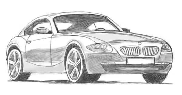 How To Draw Cars Easy Version That Looks Real