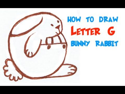 54ebe66a5d Big Guide to Drawing Cartoon Bunny Rabbits with Basic Shapes for Kids    Preschoolers - How to Draw Step by Step Drawing Tutorials