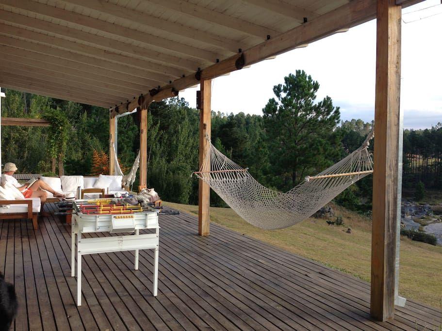 Casa de montaña: bosque y playa - Casas en alquiler en Villa General Belgrano