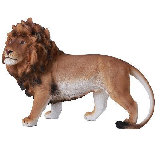 Lion Collectible Wild Cat Animal Decoration Figurine Sculpture Model by GSC New