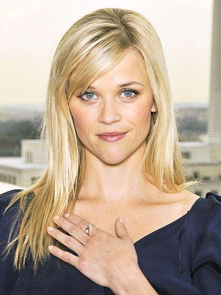 Reese Witherspoon Gesicht Frisur Und Süß
