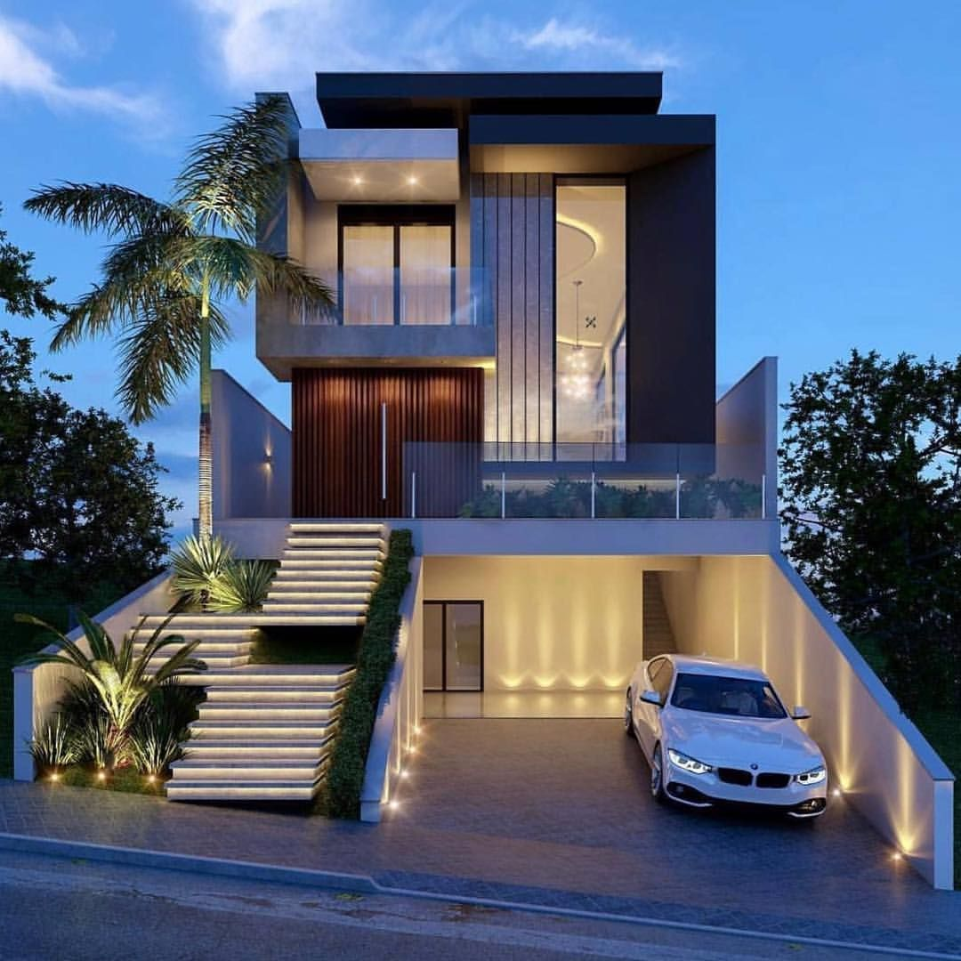 Pin By Co De F Orm Art Director On Architecture 01 Narrow House Designs Facade House House Styles