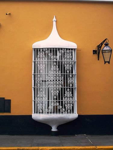 Trujillo - Perú {Colonial window}, by ivanpajares via Flickr.