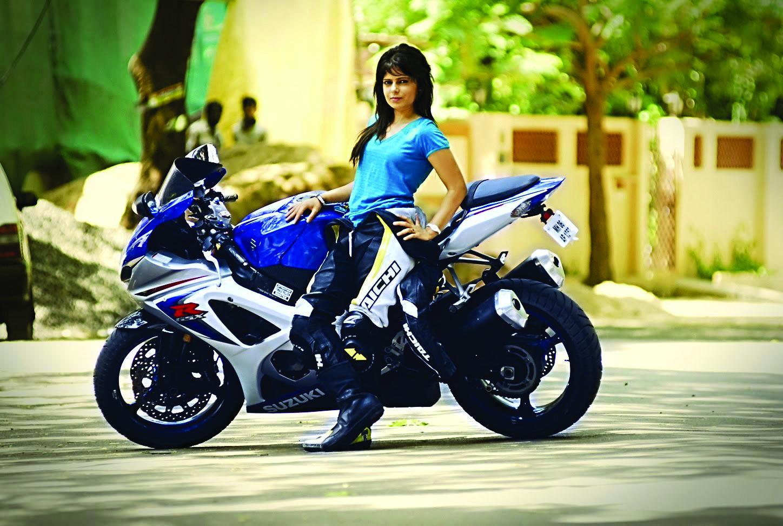 16 Hottest Indian Sports Women Bike Race Poster Bike Racers