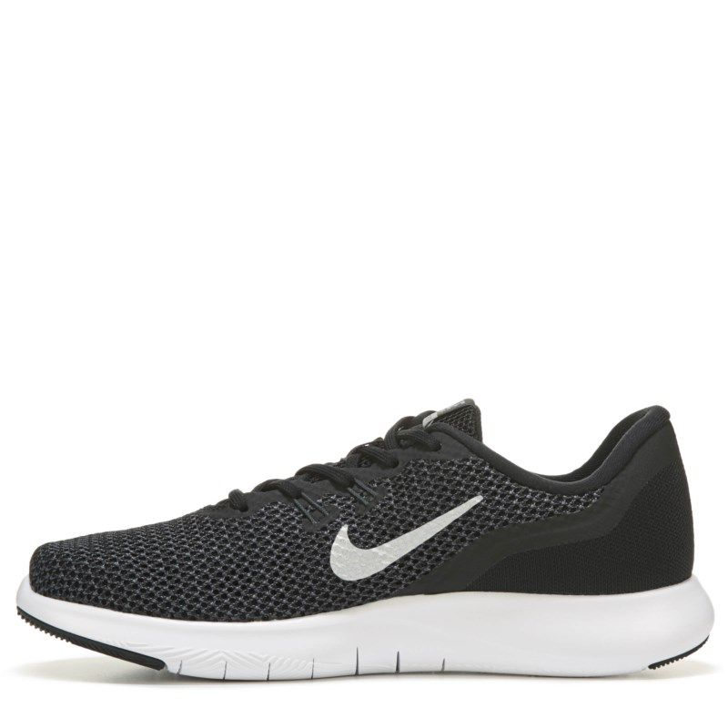 b6b3c040c831 Nike Women s Flex Trainer 7 Wide Training Shoes (Black White) - 12.0 W