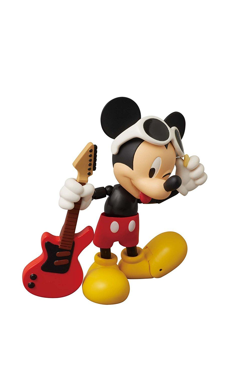 Amazon.com: Medicom Disney x Roen Mickey Mouse Miracle Action Figure (Grunge Rock Version): Toys & Games