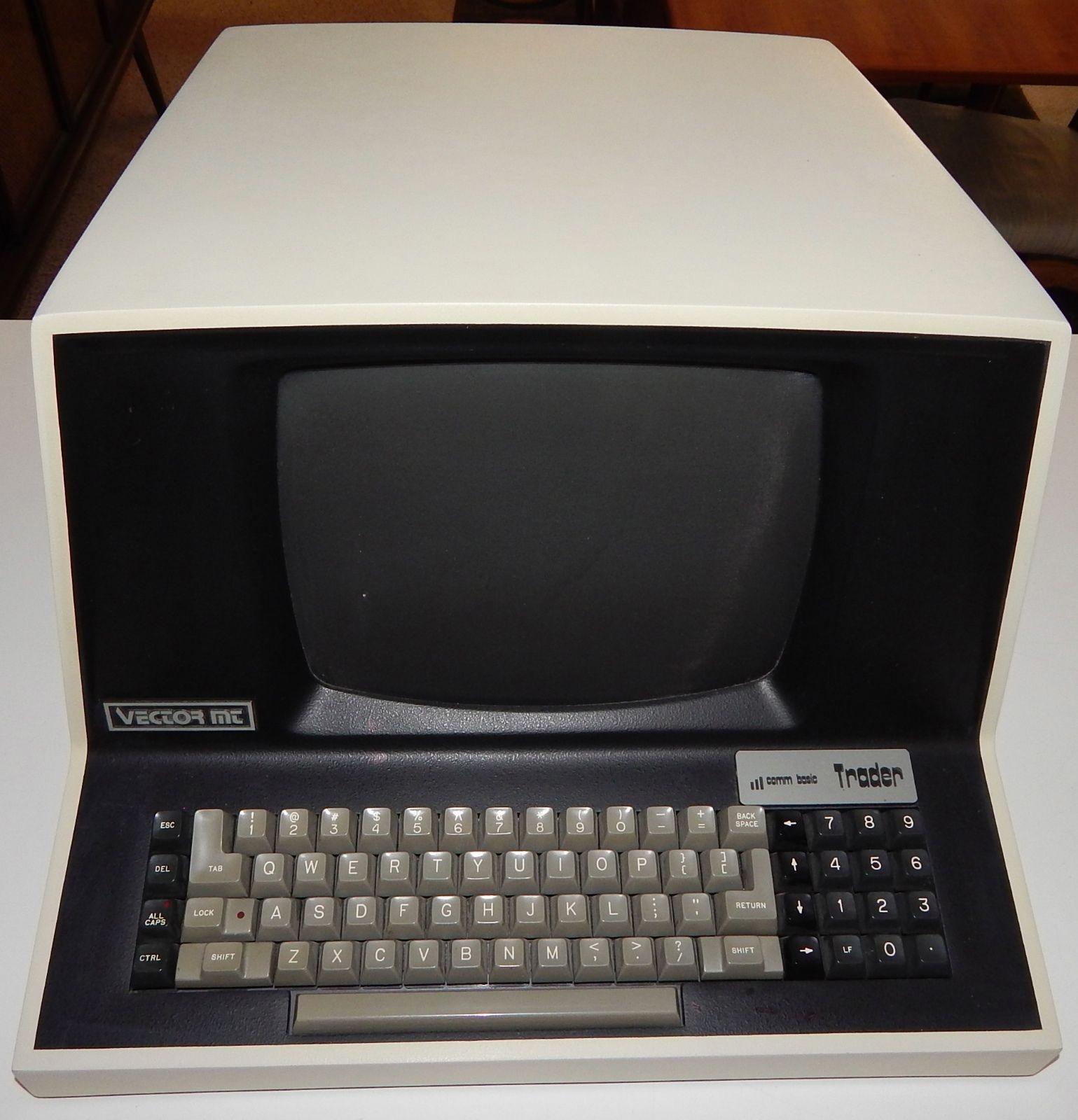Vector Trader Vintage Computer Set
