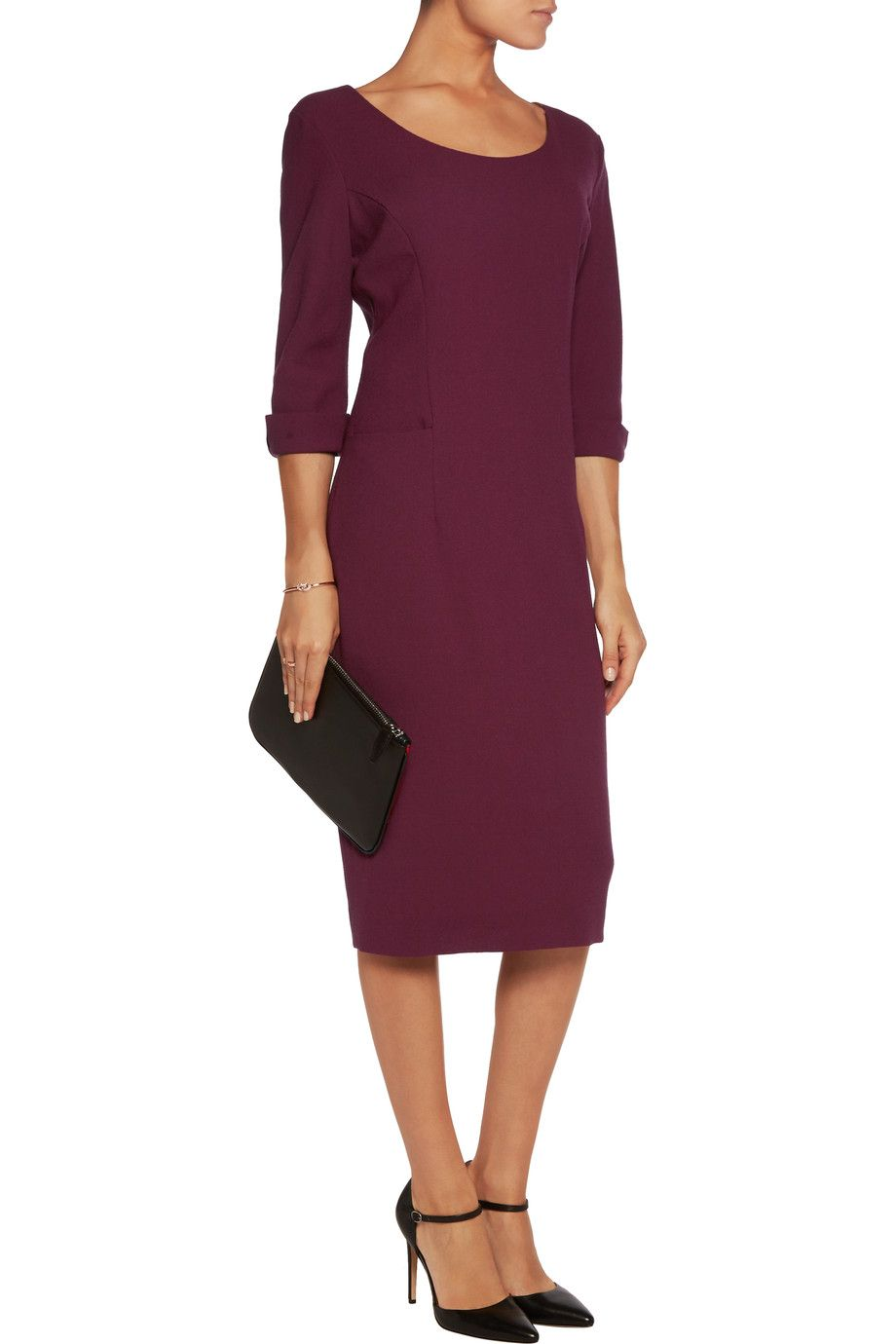 Nikita wool-crepe midi dress   GOAT   Sale up to 70% off