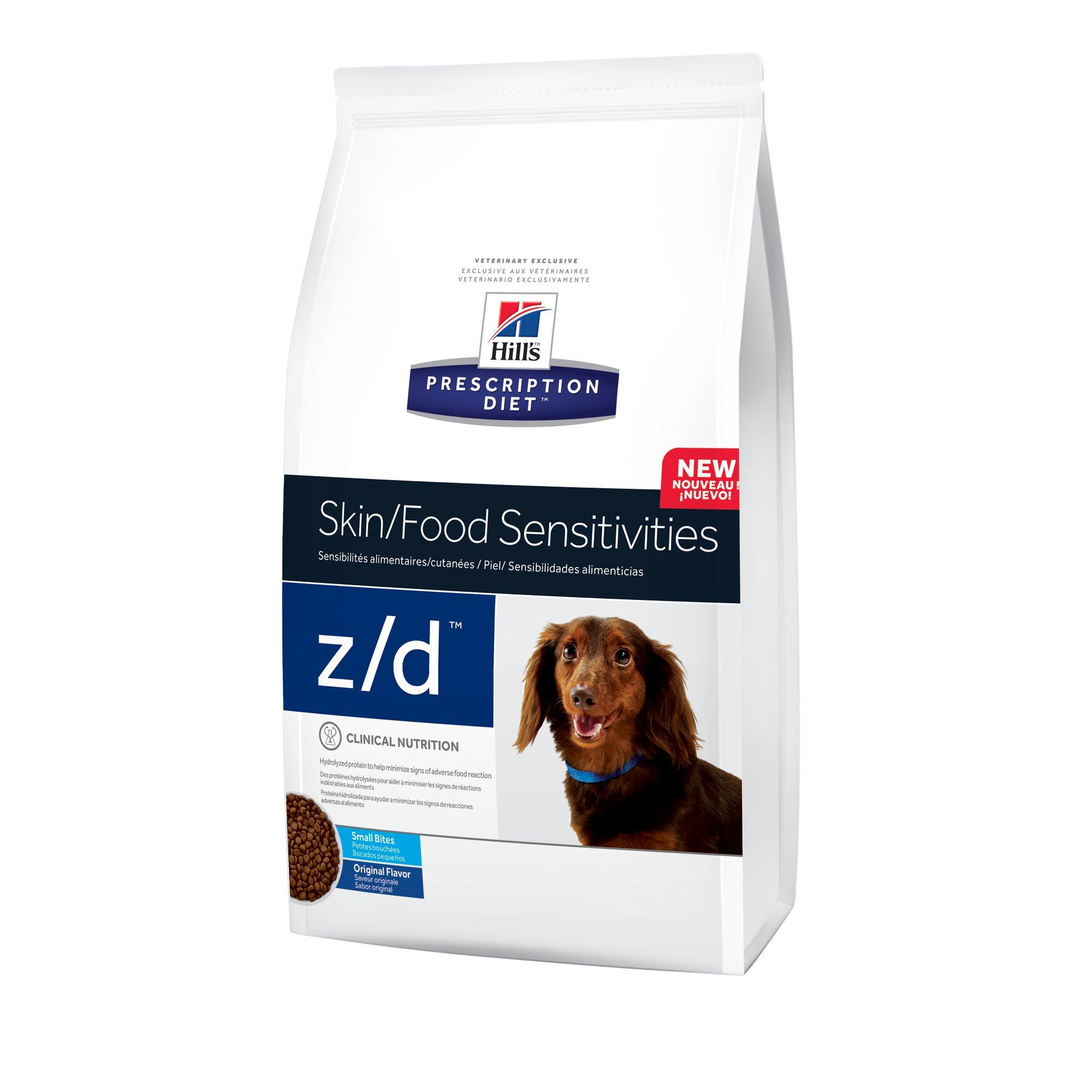 Hill S Prescription Diet Z D Skin Food Sensitivities Small Bites