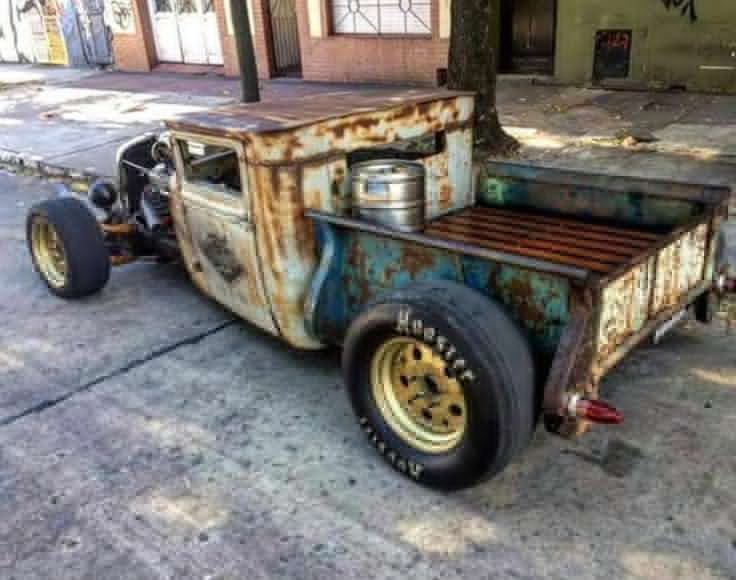 10 Postulate Why Every Person   Should Own A Rot Rod Trucks   Rat Rods are cool, and I am here to g