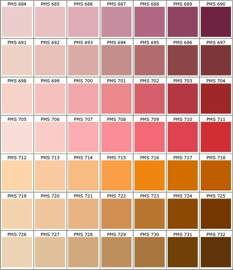 nuancier pantone rose biolet rouge orange marron d co pinterest nuancier pantone. Black Bedroom Furniture Sets. Home Design Ideas