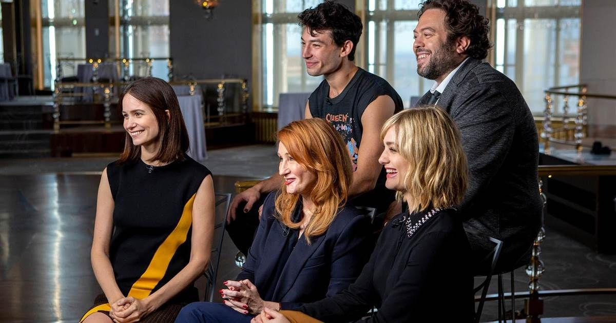 Jk Rowling Opens Up About Her Roots And Fantastic Beasts Fantastic Beasts Jk Rowling Harry Potter Author