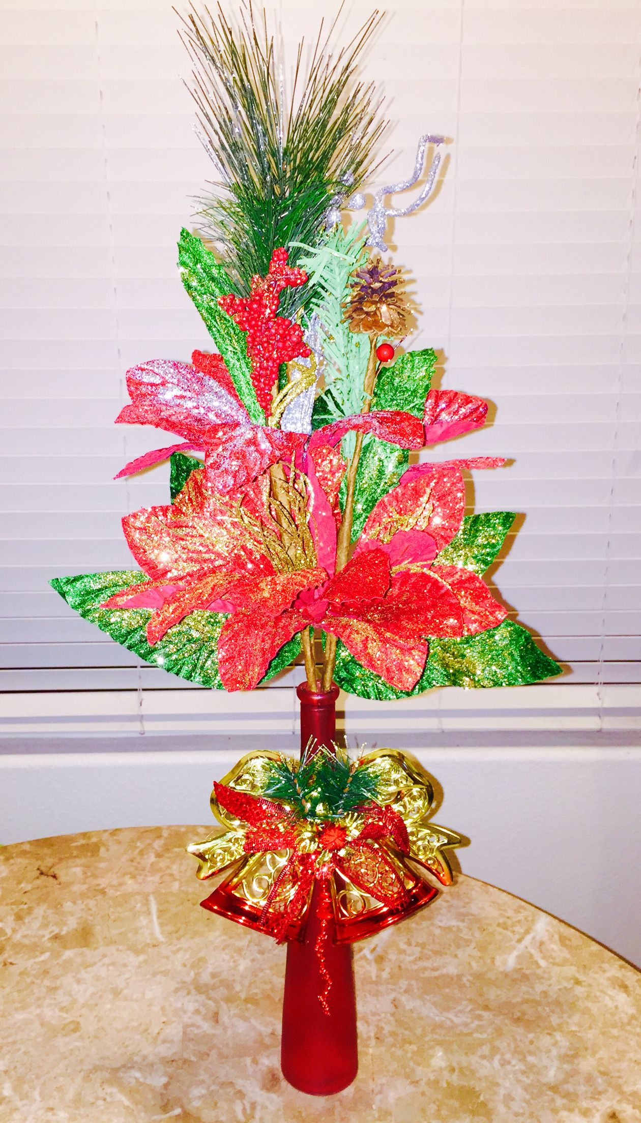 diy christmas centerpiece for under 5 find all your materials at the 99 cent - 99 Cent Store Christmas Hours