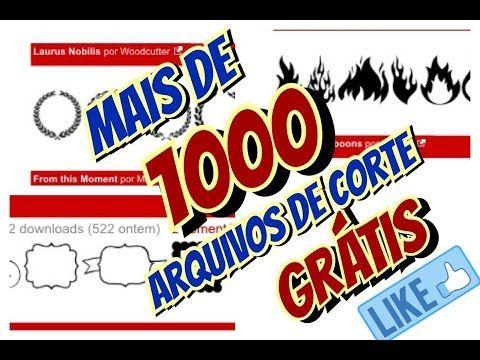 1000 arquivos de corte grátis - Silhouette  1000 free cutting files - Si. 3cc8758fd1