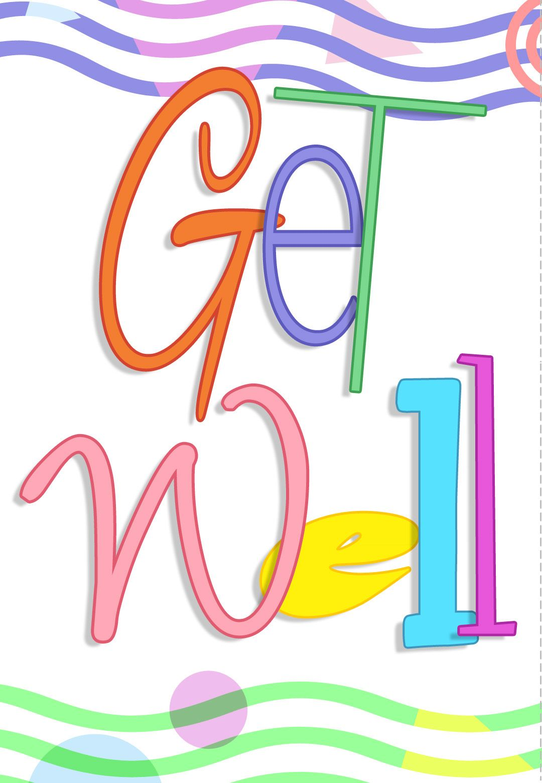 Free Printable Get Well Greeting Card Get Well Pinterest