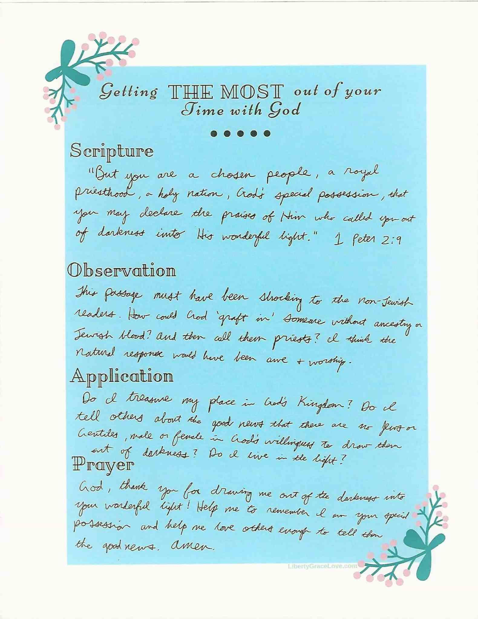 How to Get the Most Out of Your Bible Study Time