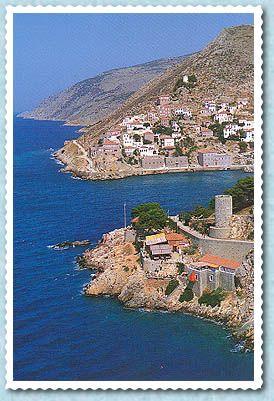 Hydra Island from http://www.greekislands.com/