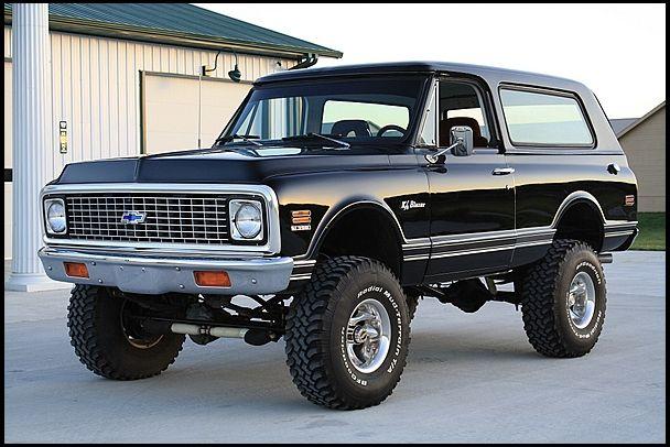 1971 Chevrolet K5 Blazer 396 Ci Automatic Mecum Kansascity Trucks Gmc Trucks K5 Blazer