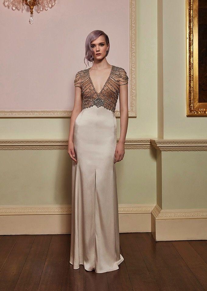 Jenny Packham | Awe | Art Deco Wedding Gown | 1920s Wedding Dress ...