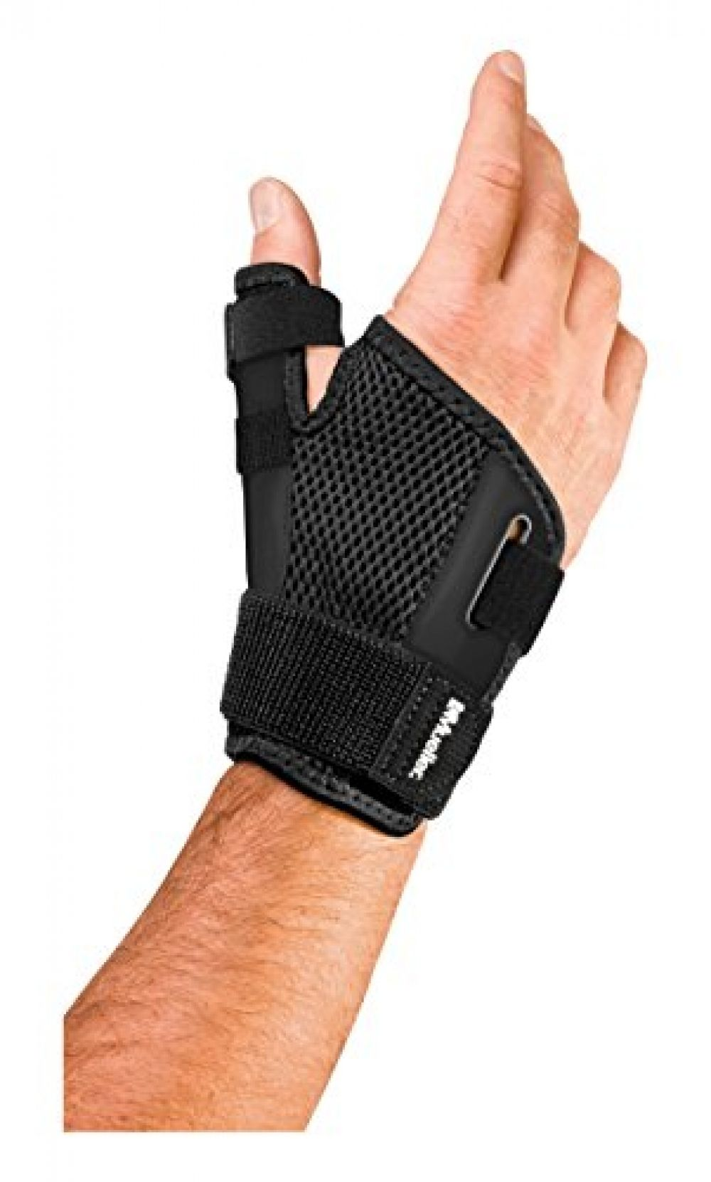 Mueller Reversible Thumb Stabilizer, Black, One Size Fits