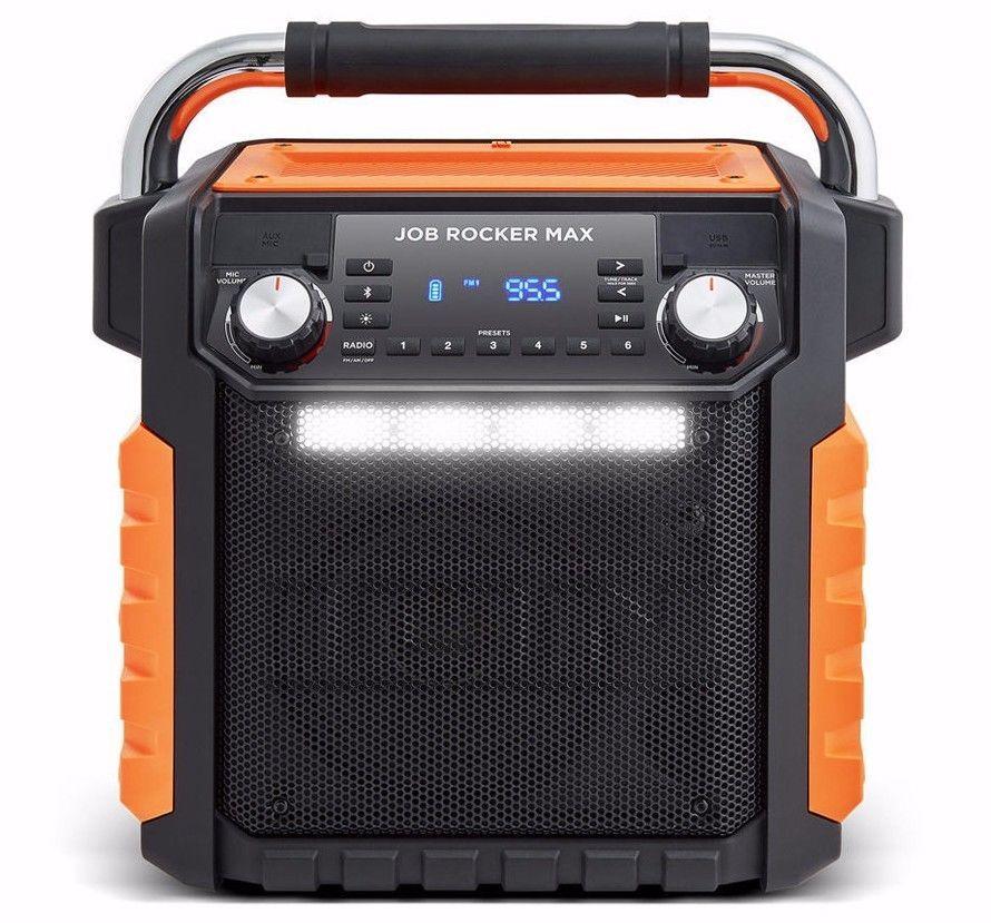 ION Job Rocker Max Portable Speaker Stereo Wireless Audio
