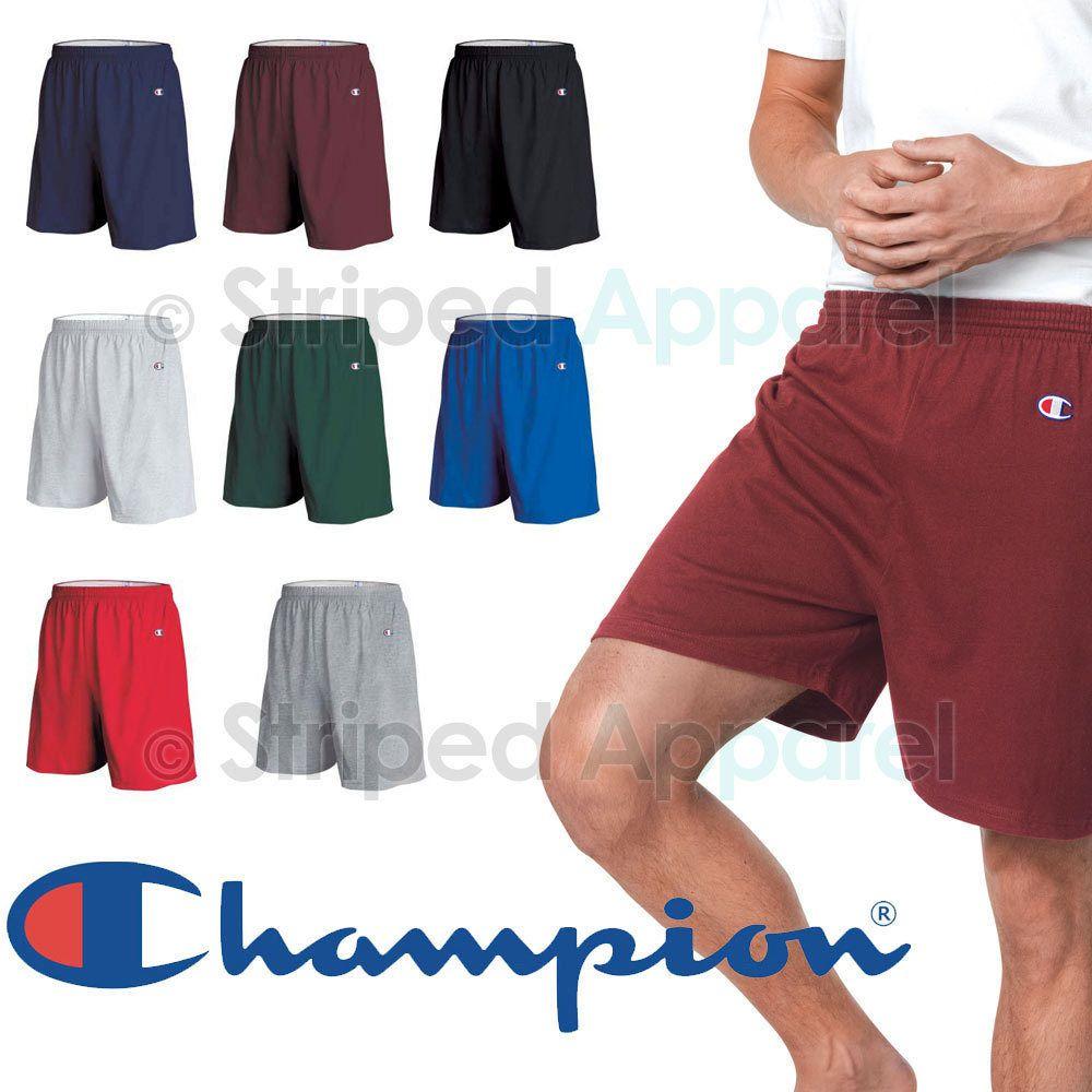 champion mens cotton shorts