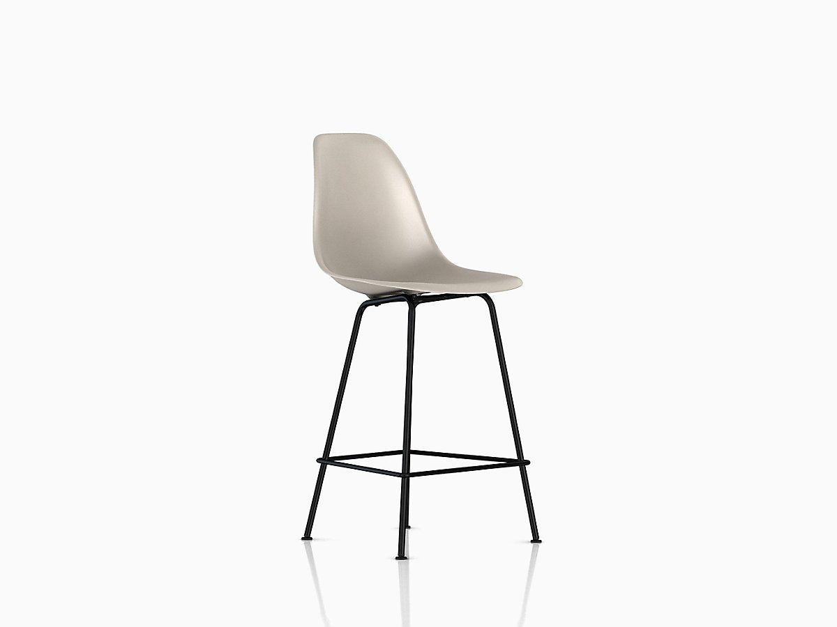 Eames Molded Plastic Stool Counter Height | Stools, Counter stool ...