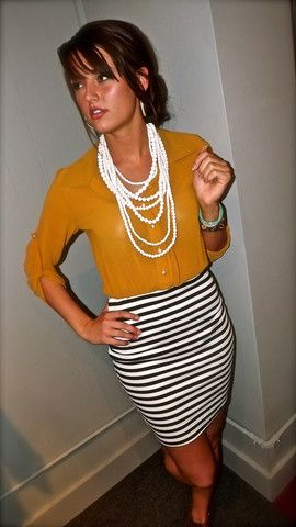 @therage.com - Tab-Sleeve Shirt Dress in Mustard