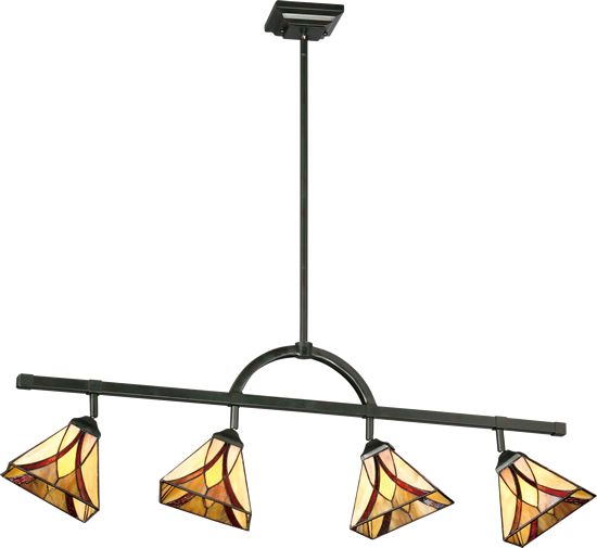 Quoizel Tfas1404va Track Light Or Island Pendant From The Asheville Collection This Convertible Fixture Can Be Mounted Quoizel Island Lighting Lighting Sale