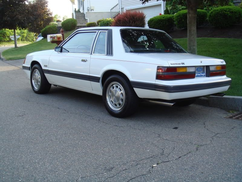 For Sale 1986 Ford Mustang LX 50 5spd Notchback - Ford Mustang