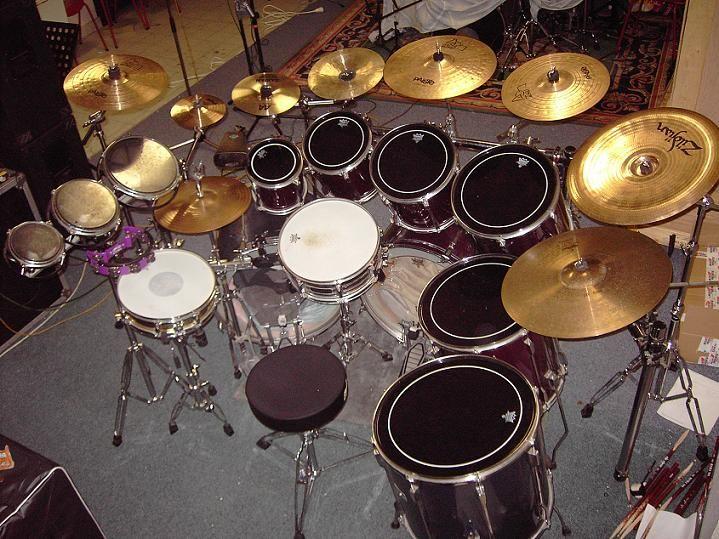 Biggest Drum Set