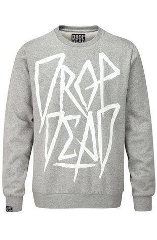 Drop Dead Clothing CrewNeck I want this for my birthday!