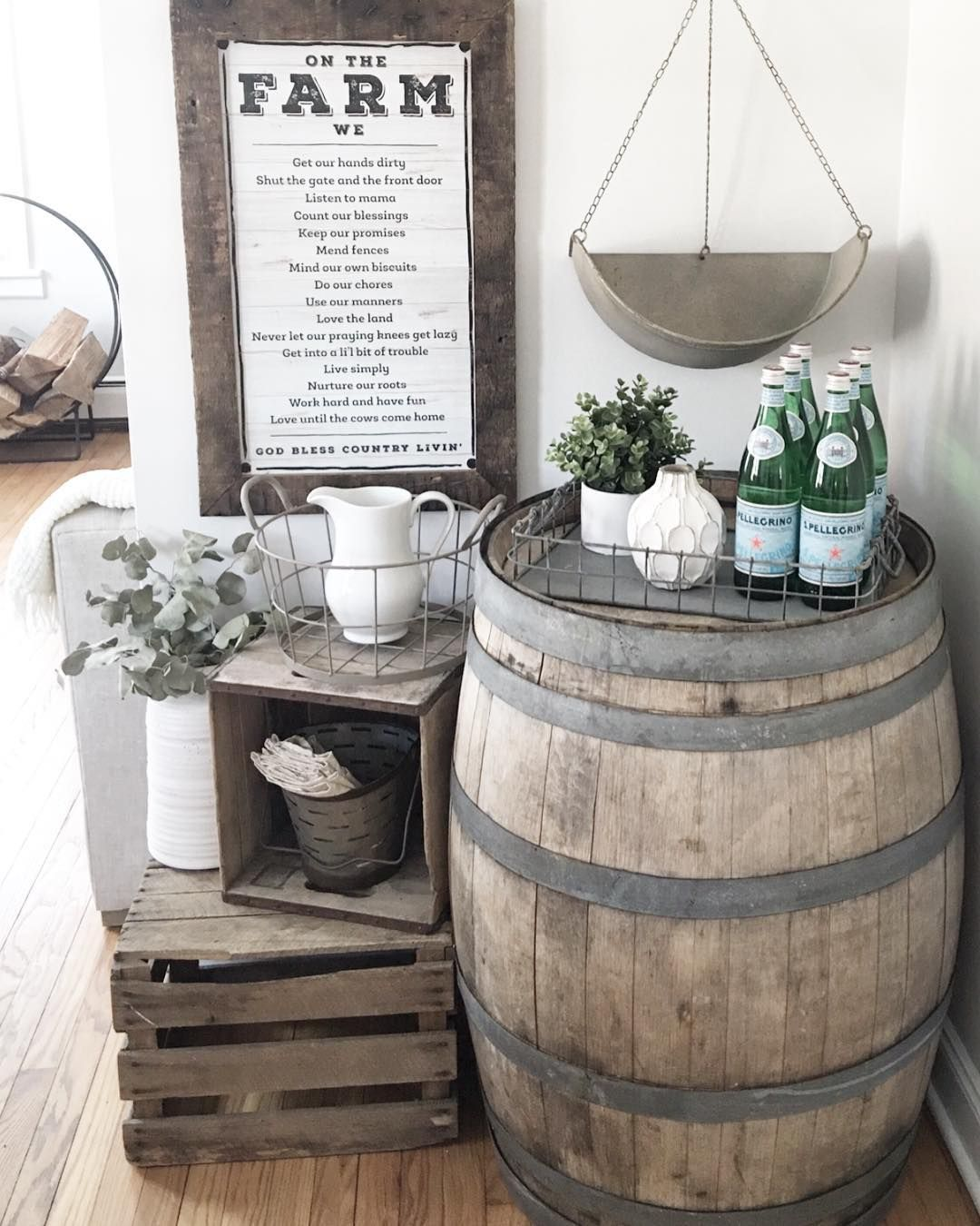 The Brilliant Thing People Are Doing With Oak Barrels In Their Homes