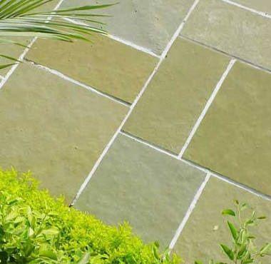 Brown rough kota stone flooring for garden area | Natural tile, Limestone  flooring, Garden tiles