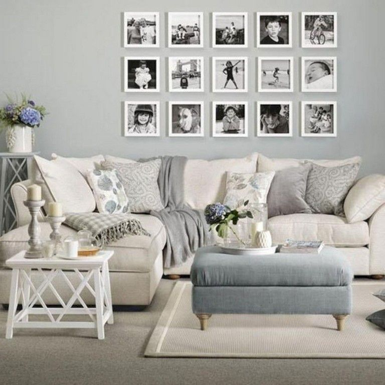Best 40 Interesting Shabby Chic Living Room Designs Ideas 400 x 300