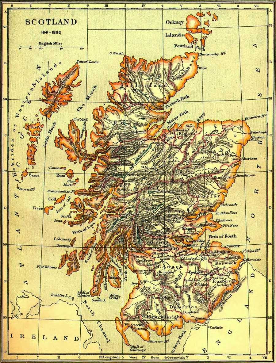 Old Map of Scotland! | History Smystory | Map, Scotland, Old maps